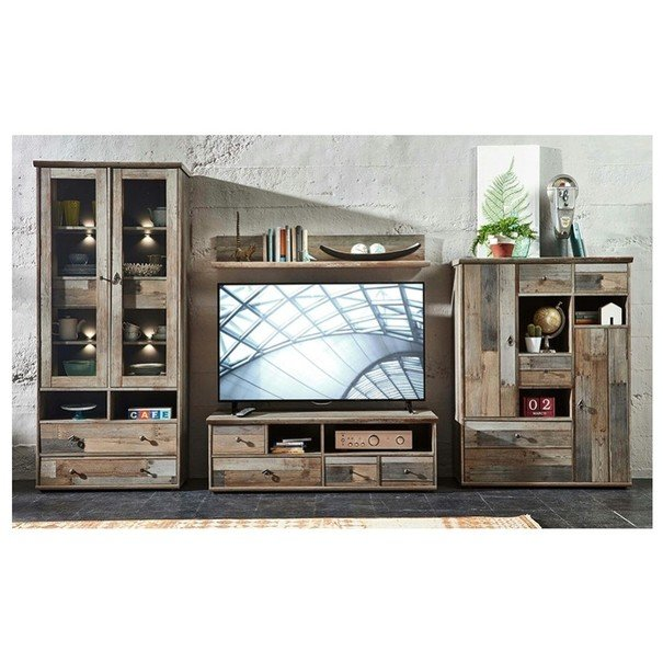 TV stolek BONANZA šedá 2