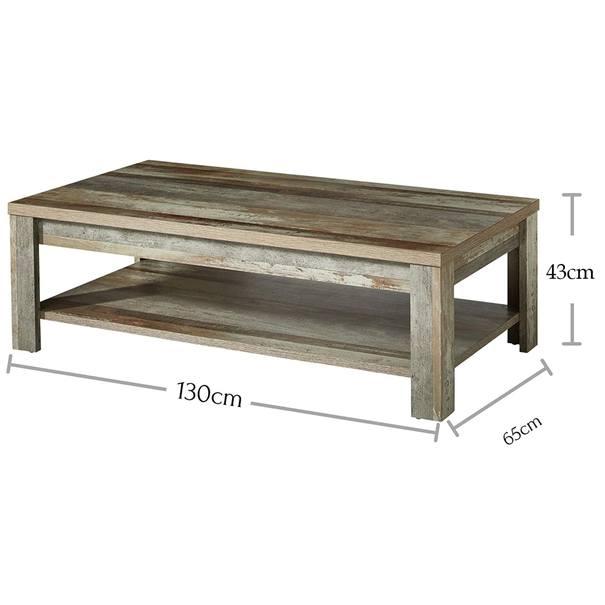 Konferenční stolek BONANZA driftwood 4