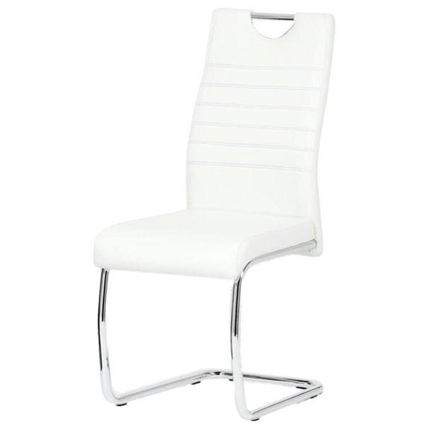 Jídelní židle BONNIE CAP bílá 1