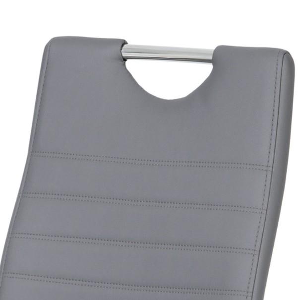 Jedálenská stolička BONNIE CAP sivá 2