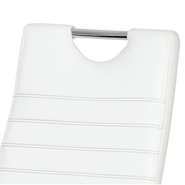 Jídelní židle BONNIE CAP bílá 2