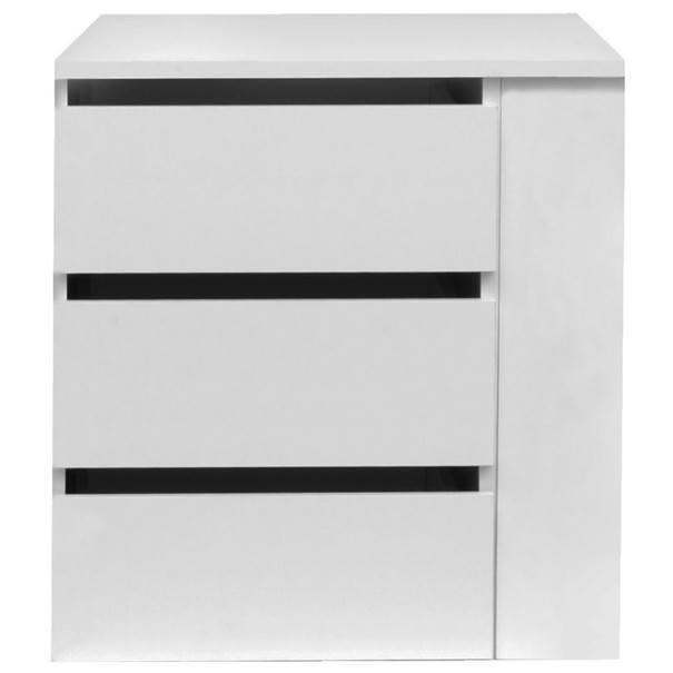 Zásuvky do skříně BOSTON 150 bílá 1
