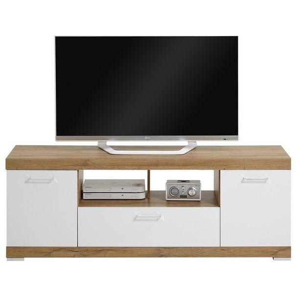 TV stolík BRISTOL II dub/biela 1
