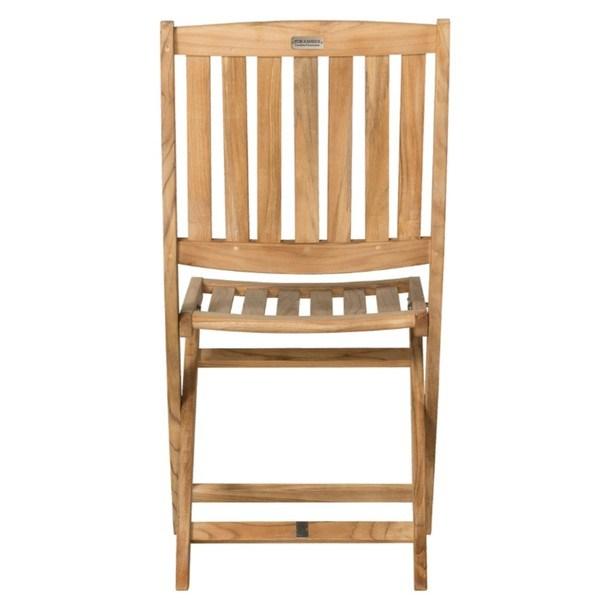 Skládací židle CAMBRIDGE 1 teakové dřevo 3