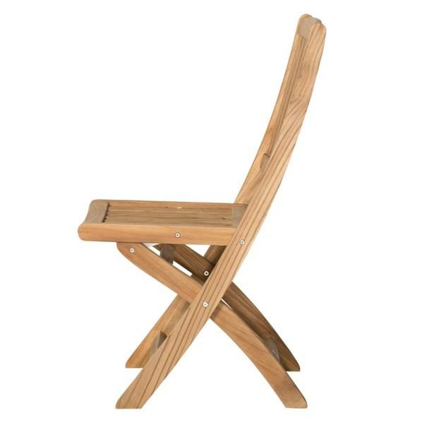 Skládací židle CAMBRIDGE 1 teakové dřevo 4