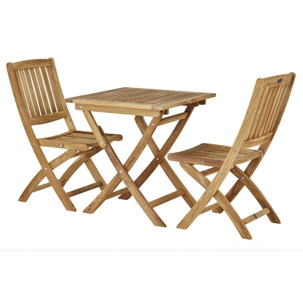 Skládací židle CAMBRIDGE 1 teakové dřevo 5