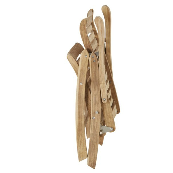 Polohovací židle  CAMBRIDGE PREMIUM teakové dřevo 2
