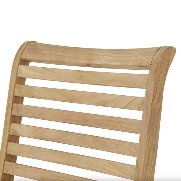 Polohovací židle  CAMBRIDGE PREMIUM teakové dřevo 8
