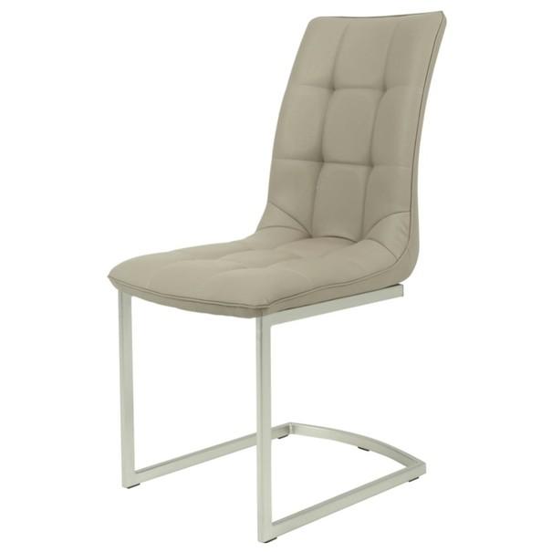 Jedálenská stolička  CAMILLA S cappuccino 1