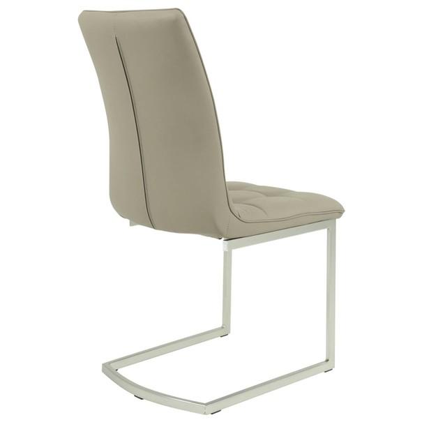 Jedálenská stolička  CAMILLA S cappuccino 2