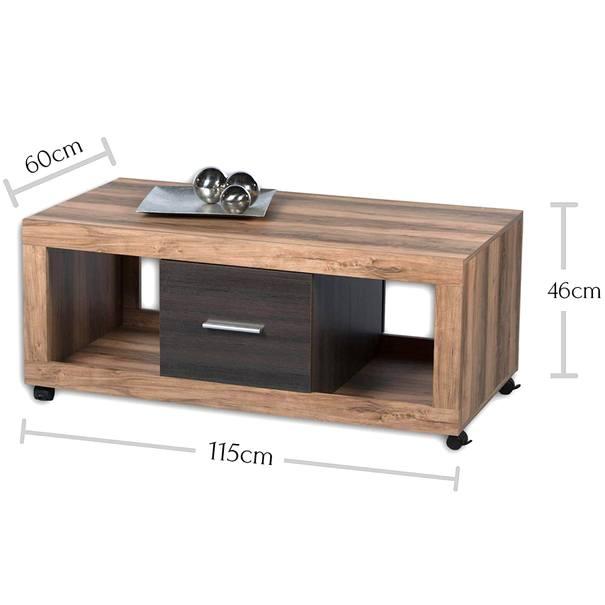 Konferenční stolek  CANCAN ořech satin/touchwood 6