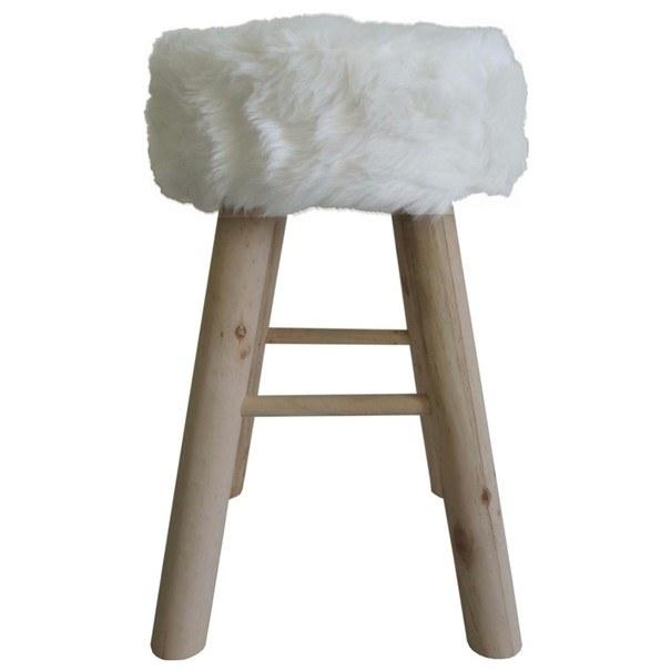 Stolička CANDY bílá 1