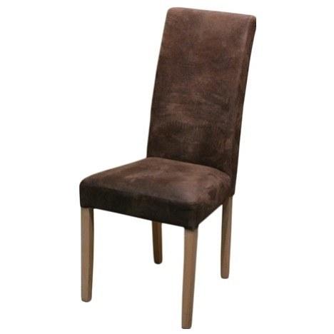 Jídelní židle CAPRICE 6 dub sonoma/hnědá 1