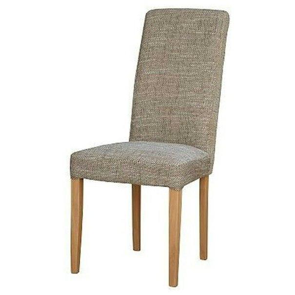 Jídelní židle CAPRICE capuccino melír/buk 1