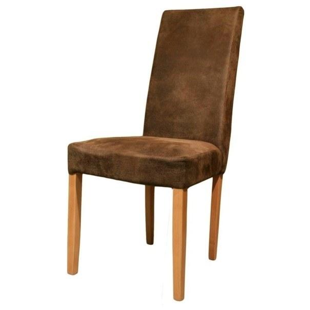 Jídelní židle CAPRICE buk/hnědá 1