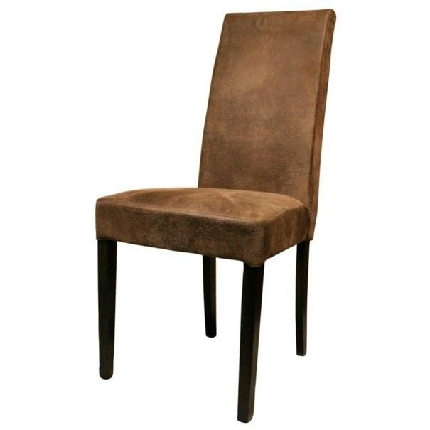Jedálenská stolička CAPRICE buk koloniál/hnedá 1