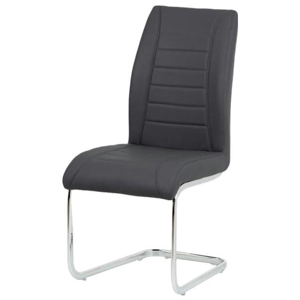 Jídelní židle CAREN šedá 1