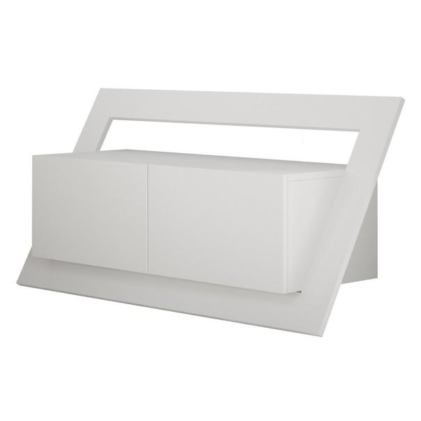 Sconto TV stolík CARNABY biela