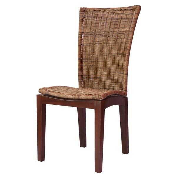 Jídelní židle CASABLANCA přírodní/ratan 1