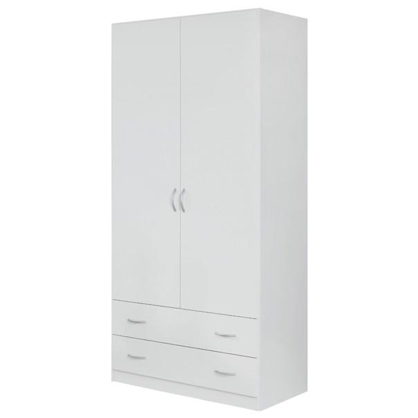 Šatní skříň CASE 3729 bílá 1