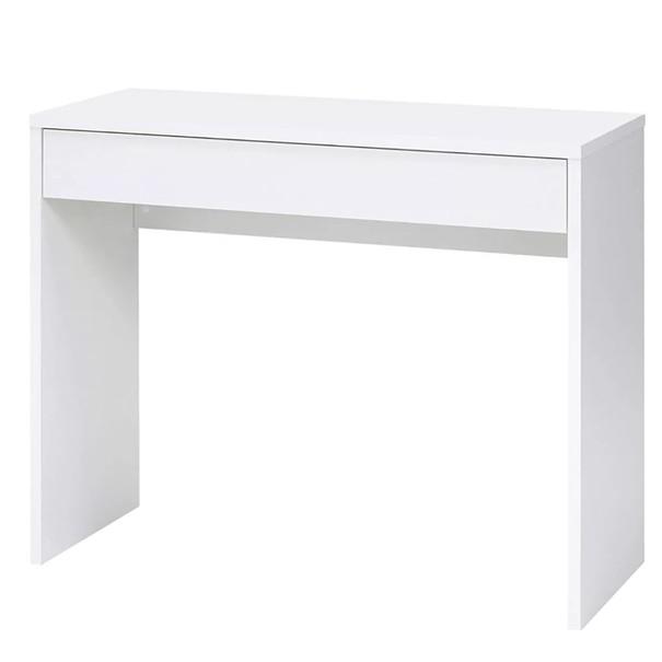 Písací stôl CHECKER biela 1