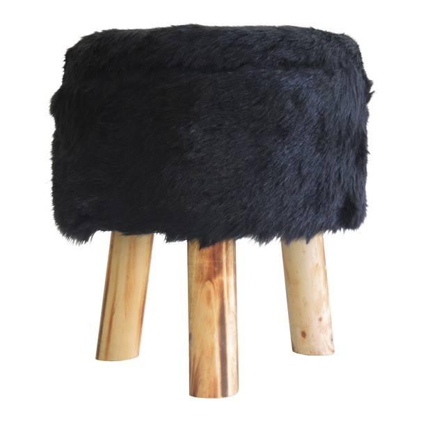 Stolička CHICO černá 1