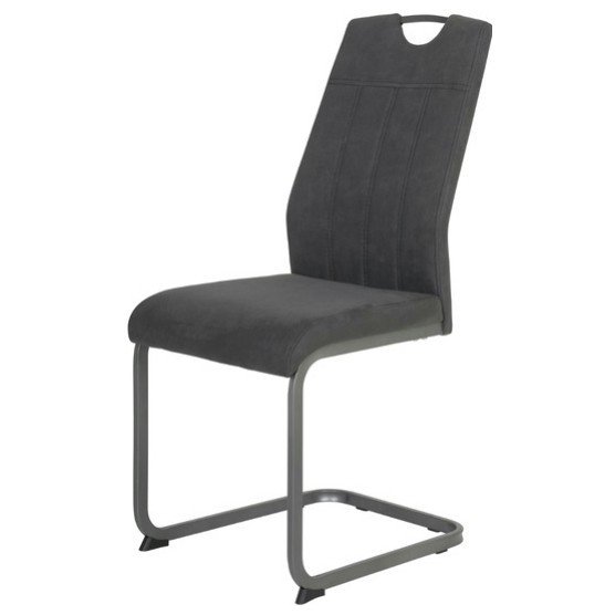 Jídelní židle CHRISTINA II antracitová 1