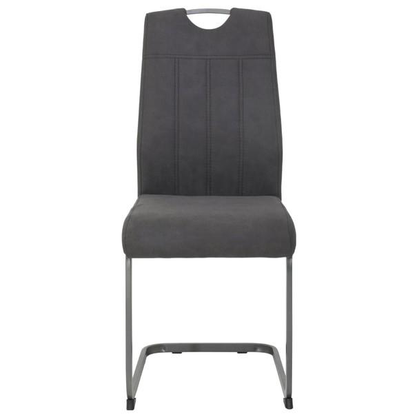 Jídelní židle CHRISTINA II antracitová 2