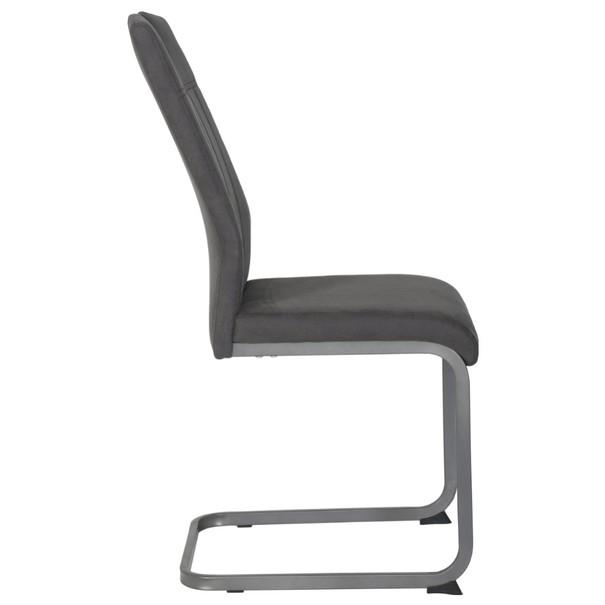 Jídelní židle CHRISTINA II antracitová 4