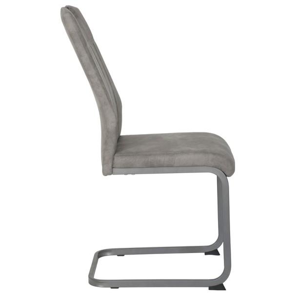 Jedálenská stolička CHRISTINA II sivá 4