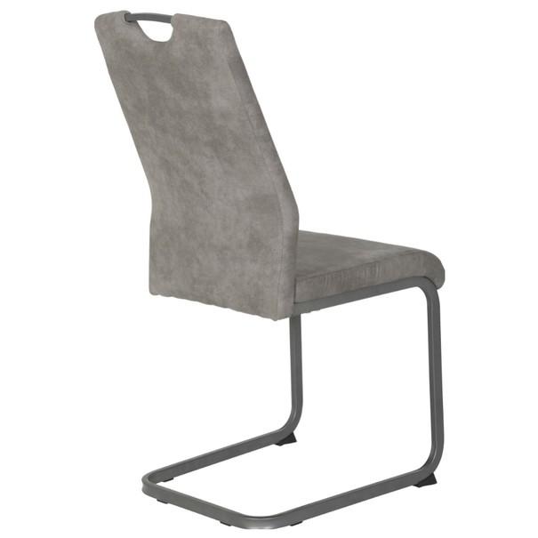Jedálenská stolička CHRISTINA II sivá 5