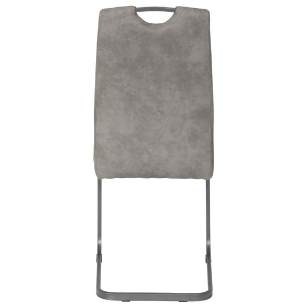Jedálenská stolička CHRISTINA II sivá 6