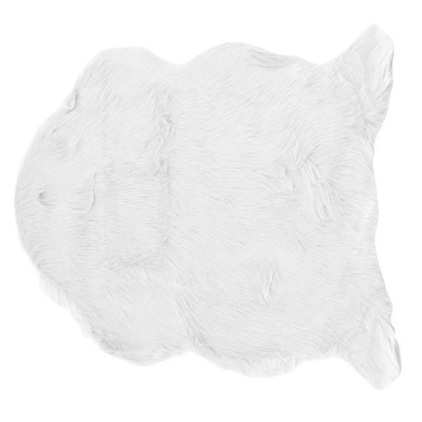 Kobereček CLAIRE 60x90 cm, bílá 1