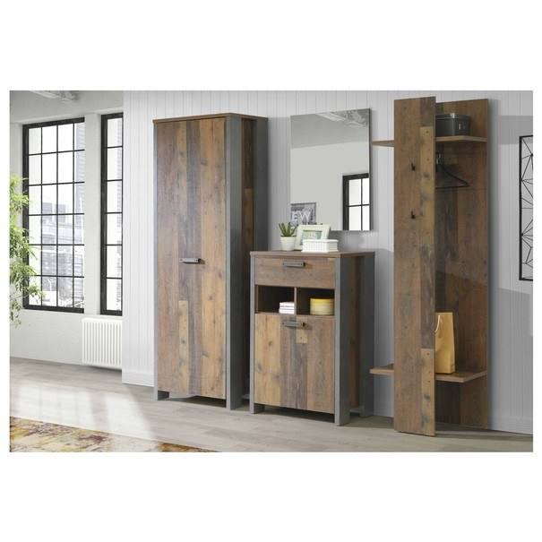 Predsieňový panel CLIF wood vintage 2