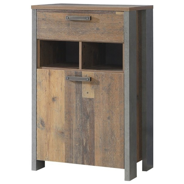 Sconto Botník CLIF wood vintage - nábytek SCONTO nábytek.cz