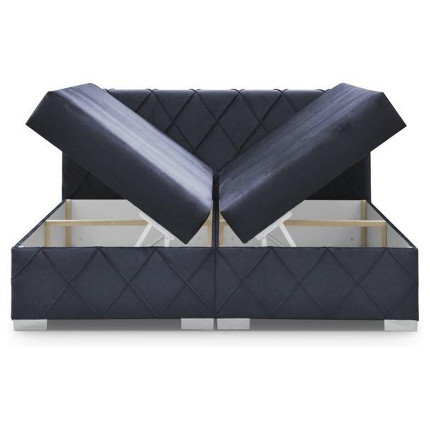 Postel CLOE tmavě modrá, 180x200 cm 2