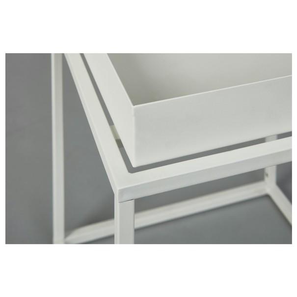 Přístavný stolek CLUB NY bílá 6