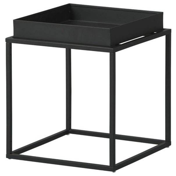 Prístavný stolík CLUB NY čierna 1