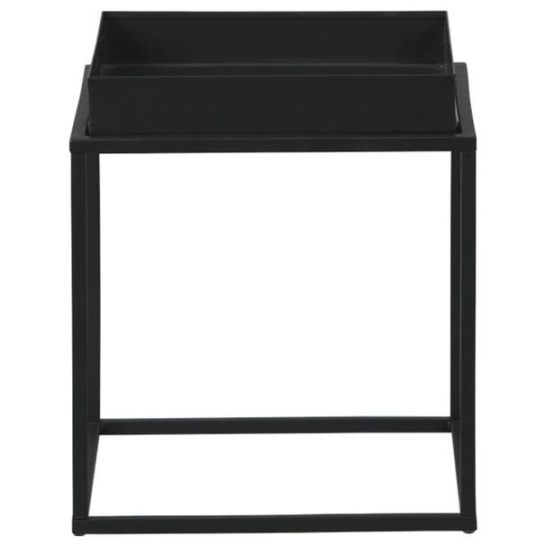 Prístavný stolík CLUB NY čierna 3