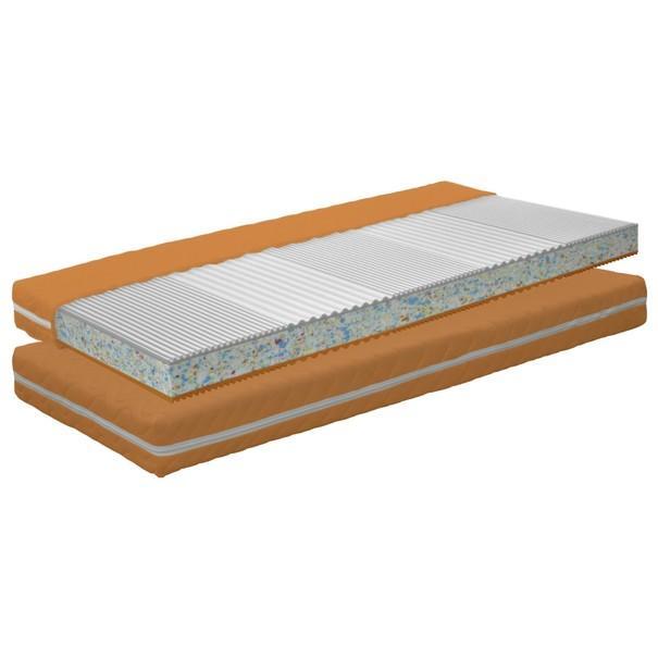 Dětská matrace COLOR DREAMS oranžová 1