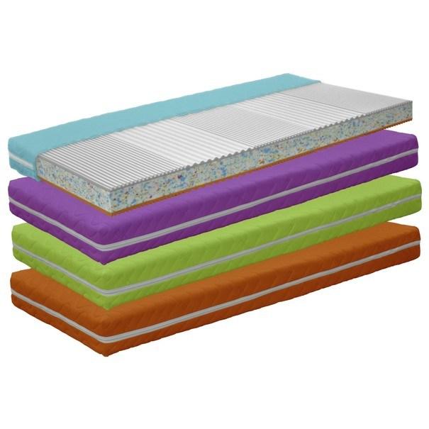 Dětská matrace COLOR DREAMS oranžová 2