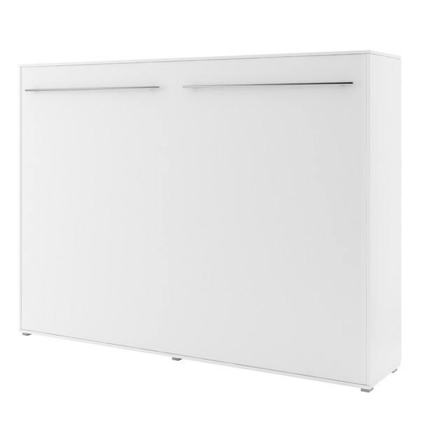 Výklopná postel CONCEPT PRO CP-04 bílá matná, 140x200 cm, horizontální 1