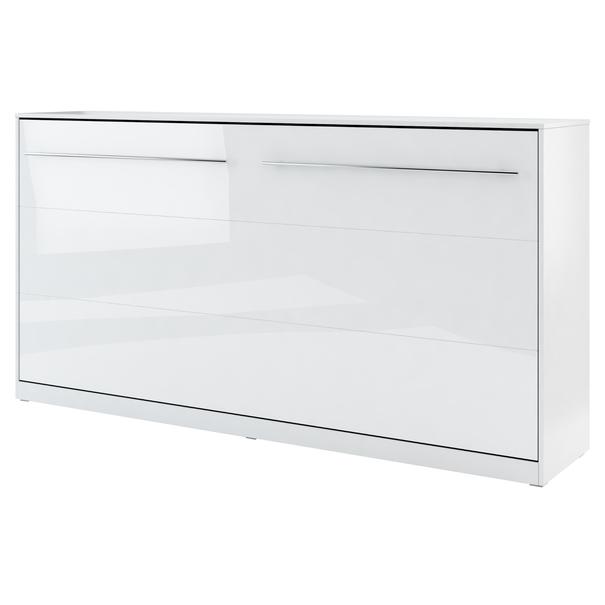 Sconto Postel CONCEPT PRO CP-06 bílá vysoký lesk, 90x200 cm - nábytek SCONTO nábytek.cz