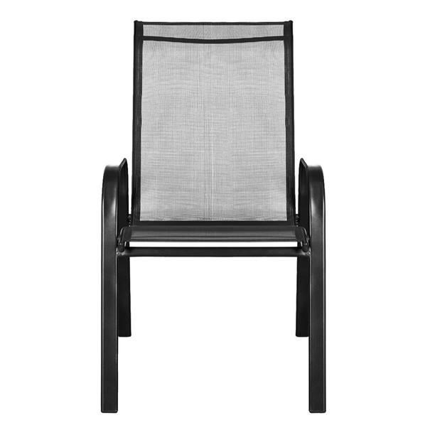 Zahradní židle  CORDOBA 1 antracit/černá 2