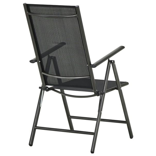 Polohovacia stolička CORDOBA 5 čierna/antracit 2