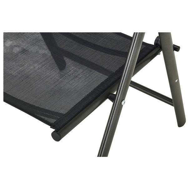 Polohovacia stolička CORDOBA 5 čierna/antracit 6