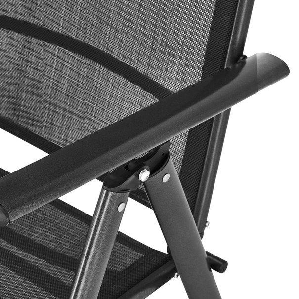Polohovací židle CORDOBA 5  antracit 7