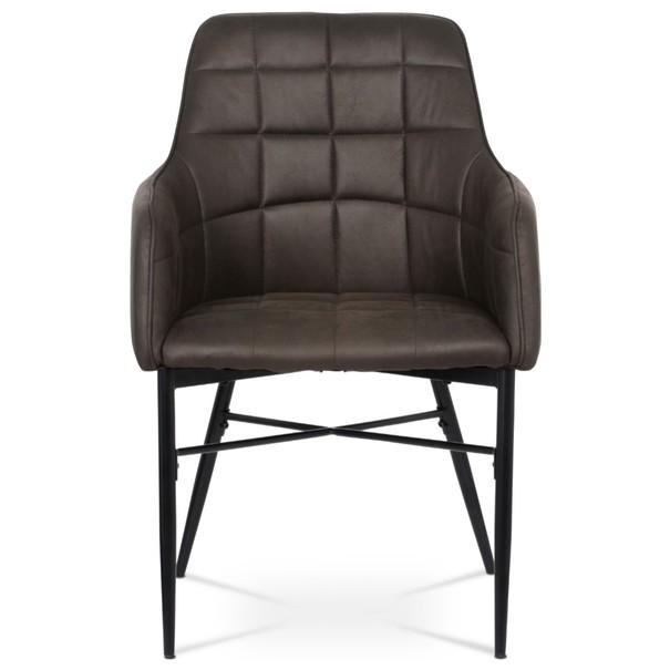 Jedálenská stolička DAMIRA hnedá 3