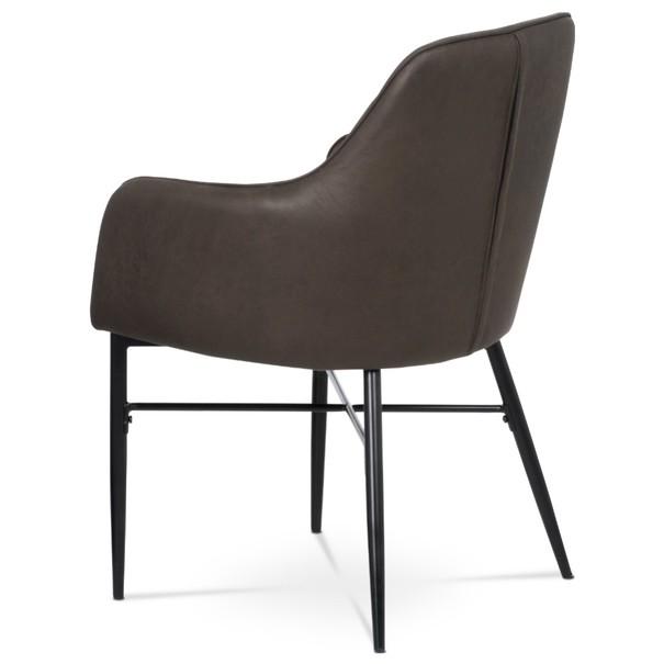 Jedálenská stolička DAMIRA hnedá 5