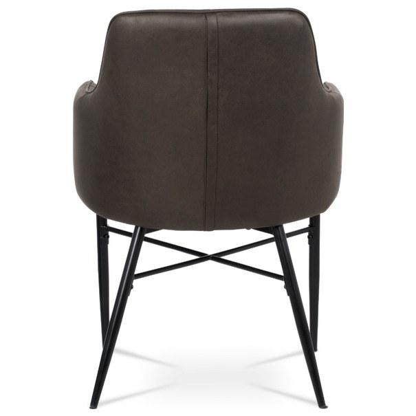 Jedálenská stolička DAMIRA hnedá 6